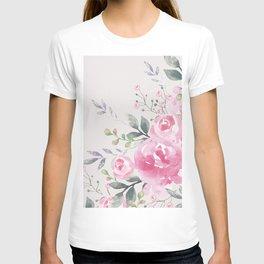 ROSES FLORAL BOUQUET T-shirt