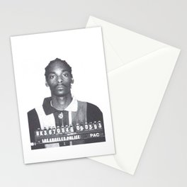 Snoop Dogg Mugshot Stationery Cards