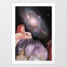 L'Ametheyste Art Print