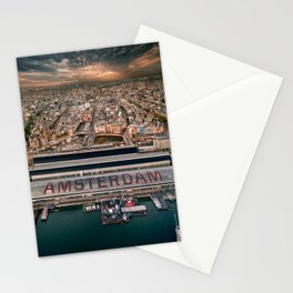 Amsterdam Station from Above Stationery Cards