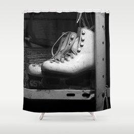 Vintage Skates Shower Curtain