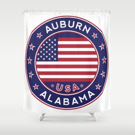 Auburn, Alabama Shower Curtain