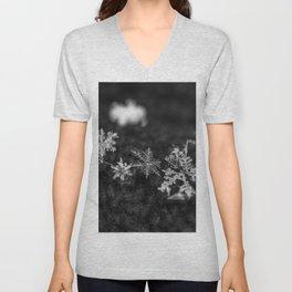 Clump of snowflakes Unisex V-Neck