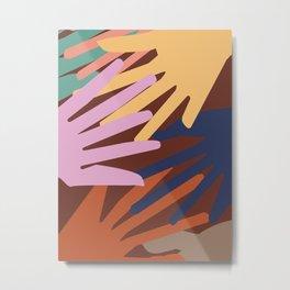 Global Hands 1 Metal Print