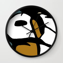 Abstract Painting Design - 3 Wall Clock