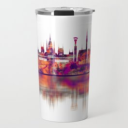 Budapest Hungary Skyline Travel Mug