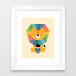 Courage Framed Art Print