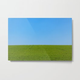 The Endless Field Metal Print