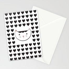 neko love Stationery Cards