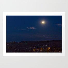 Canto notturno di un pastore errante dell'Abruzzo Art Print