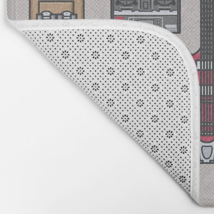 Back to the future - Essential items Bath Mat