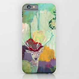 i am the meadow in the forest iPhone Case