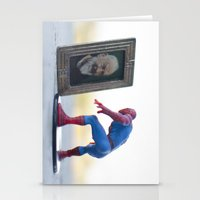 heroes Stationery Cards featuring heroes by Aureliano Pandolfina Del Vasto
