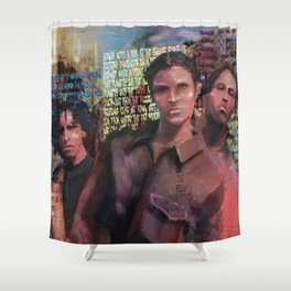 Where You From? Shower Curtain