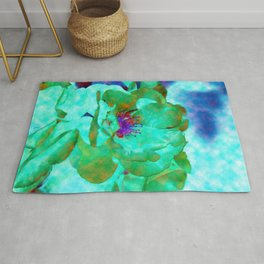 Different Colored Rose Rug