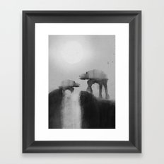 Big Walker Is Watching You Framed Art Print