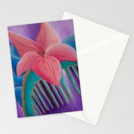 Mulan Flower Stationery Cards