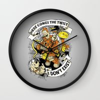 spaceman Wall Clocks featuring Urban Spaceman? by Billy Allison