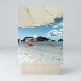 Summer in Sardinia Italy Travel Photography   Italian Beach Summer Mini Art Print