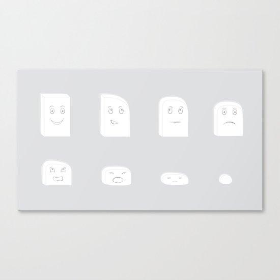 Mr. Eraser Canvas Print