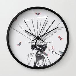 Love 2 Wall Clock