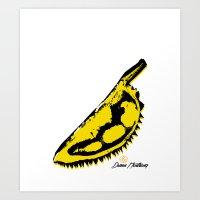 velvet underground Art Prints featuring Durian Underground by ariefarfarf