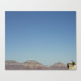 the shooter Canvas Print