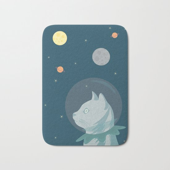 Dreaming about Space Bath Mat