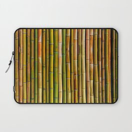 Bamboo fence, texture Laptop Sleeve