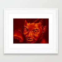 mike tyson Framed Art Prints featuring tyson /variante/! by noblackcolor