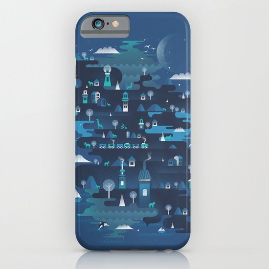 Land of the Blue Mountains iPhone & iPod Case