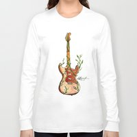 vinyl Long Sleeve T-shirts featuring Vinyl by katieellen