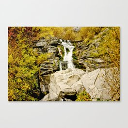 Boulder Fall Canvas Print
