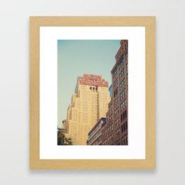 Vintage New Yorker Framed Art Print