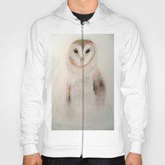 Owl in the fog Hoody