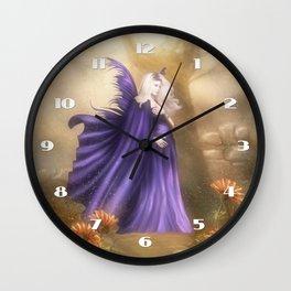 Pregnant Fairy Wall Clock