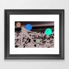 1 3 4 5 Framed Art Print