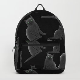 Russian Blue Cat Backpack