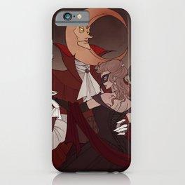 Drawlloween Masquerade iPhone Case