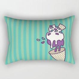 Blackberry Antigravity Ice Cream Rectangular Pillow
