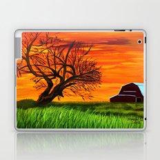 Sunrise on the old farm  Laptop & iPad Skin