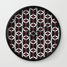 Flower of Life Pattern 10 Wall Clock