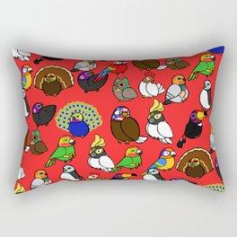 Lucha Birds Rectangular Pillow
