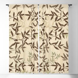 branching out Blackout Curtain