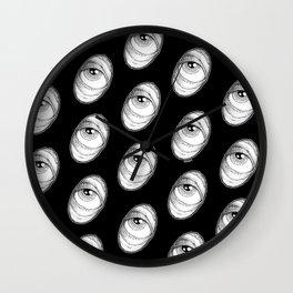 Peepshow 1 - Stipple Eye Wall Clock
