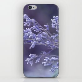 dew drops on wildflower iPhone Skin