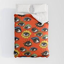 60s Eye Pattern Comforters