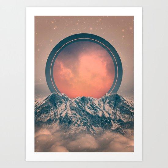 Rise Again   Solar Eclipse Art Print