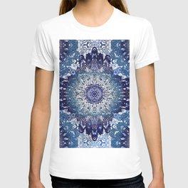 Indigo Lace Mandalas T-shirt