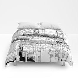 Nagasaki - China Town Comforters